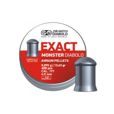Пульки JSB Exact MONSTER 4.52 (0.87 г, 400 шт.)