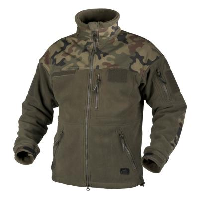 Флисовая куртка INFANTRY, цвет Olive Green/PL Woodland