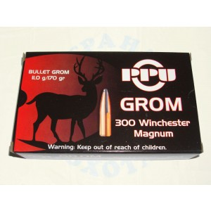 "Патр.(300WIN MAG) ""GROM"" п/об. (11,0г) (PARTIZAN)"